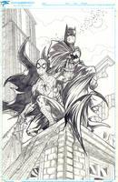 Batman Spiderman by ElvinHernandez