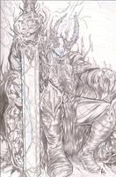 Darkness Viking by ElvinHernandez