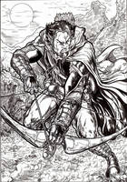 Elvin Warrior by ElvinHernandez