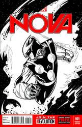 Nova Cover deviant by ElvinHernandez