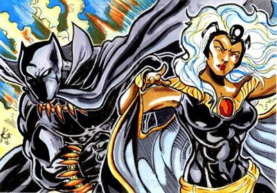Black panther marvel storm