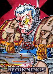 Marvel Beginnings Cable by ElvinHernandez