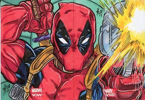 Marvel Now! Deadpool Double card
