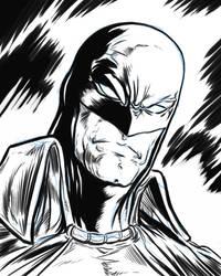 Generic Superhero Male Inks by ElvinHernandez