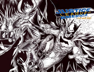 Justice League Batman001lowres by ElvinHernandez