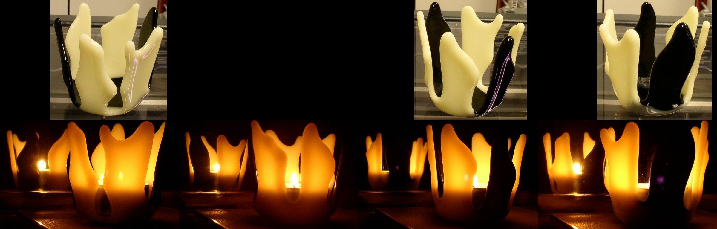 slumped candle holder by free-zero