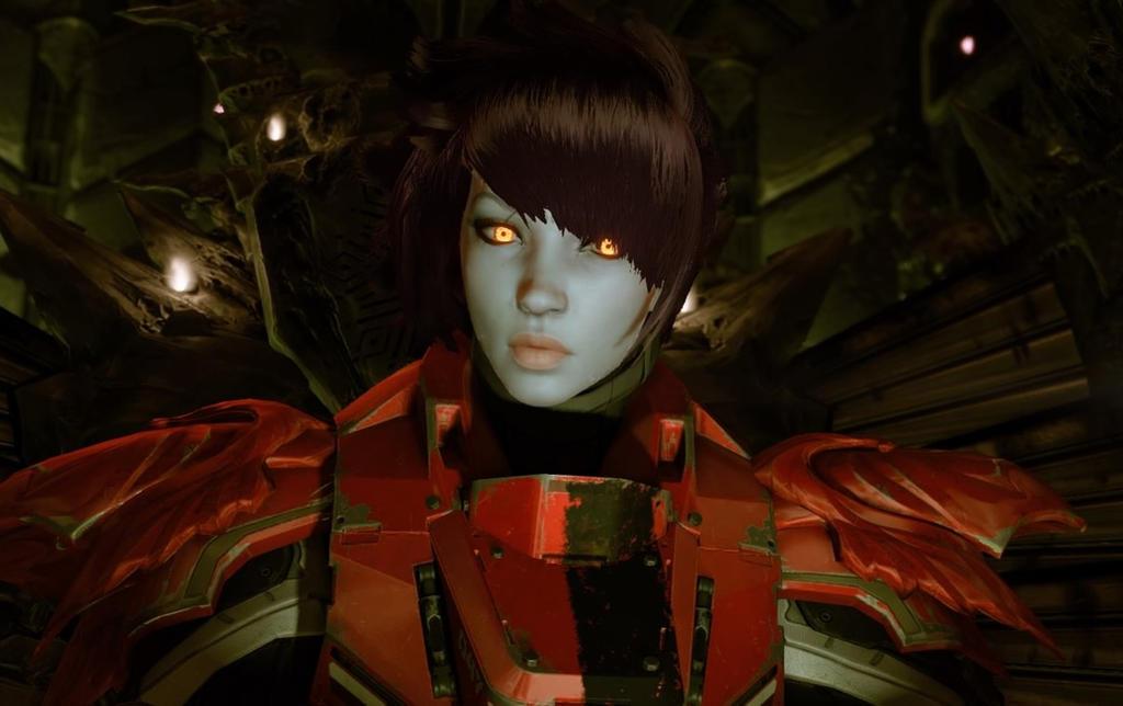 Female Awoken Titan by default666 on DeviantArt
