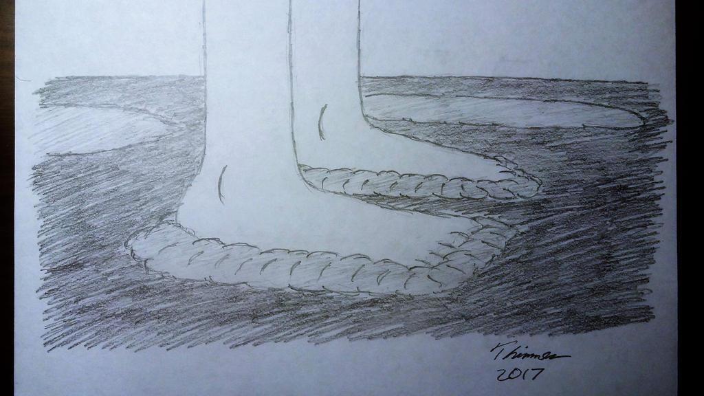 Girl Feet In Mud by EThinnes