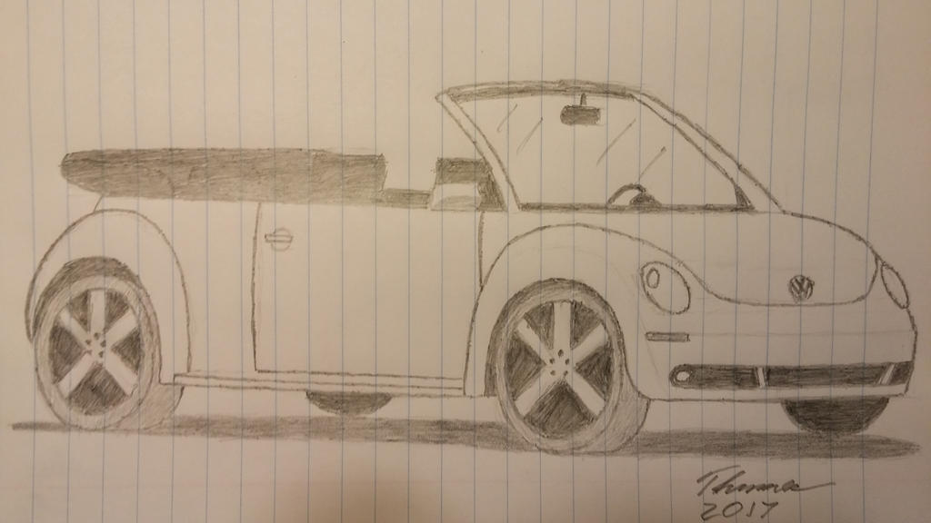 2008 Volkswagen New Beetle Convertible by EThinnes