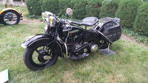 1947 Harley-Davidson FL 74 Knucklehead