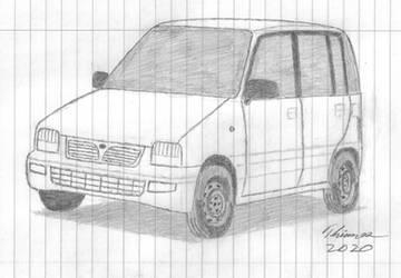 Perodua Kancil by EThinnes