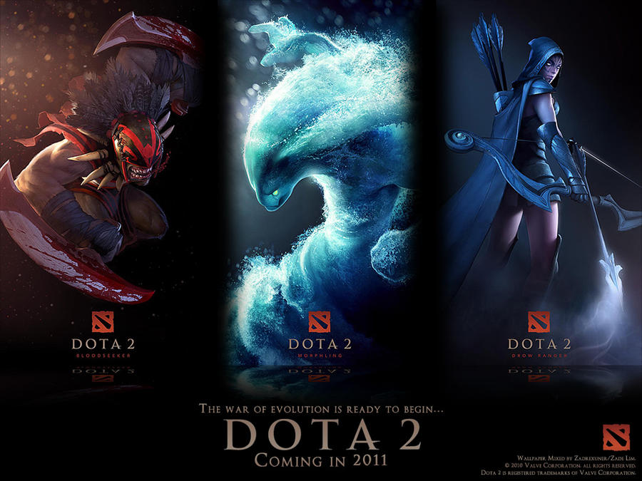 DotA 2 Wallpaper 1 1024x768 by zadelim