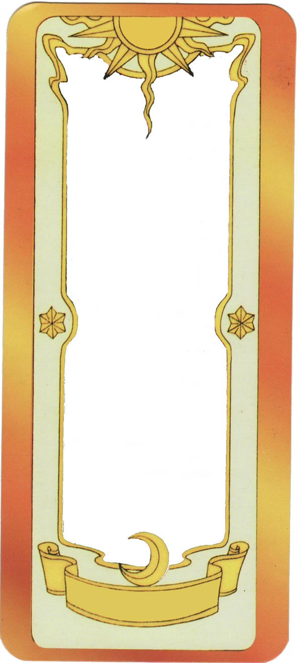 clow card template by LadyRoseofFlames