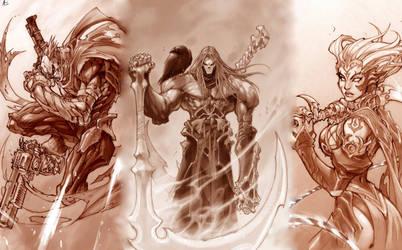 The Three Unknown Horsemen