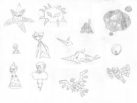 Mexican FakeMon Set 13