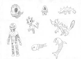 Mexican FakeMon Set 14