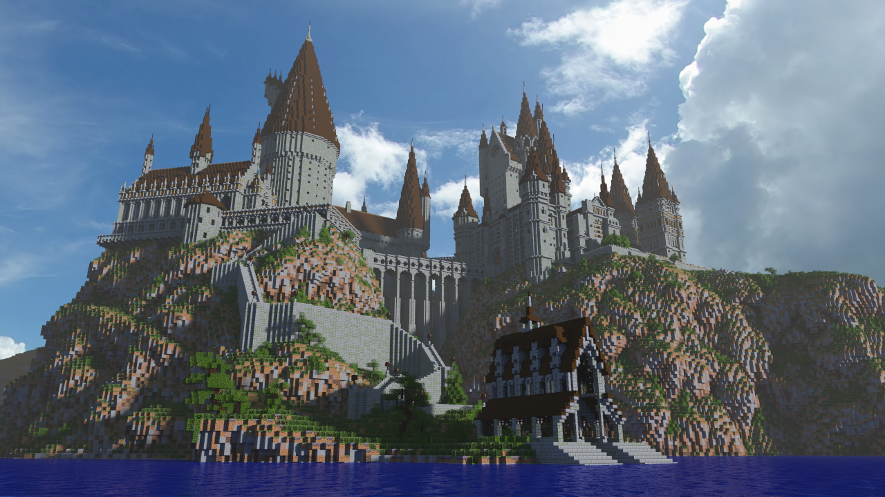 Minecraft Hogwarts by jstoeckm2 on DeviantArt