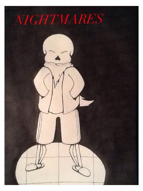 Undersaga: Nightmares (Title page) by Scottthespy