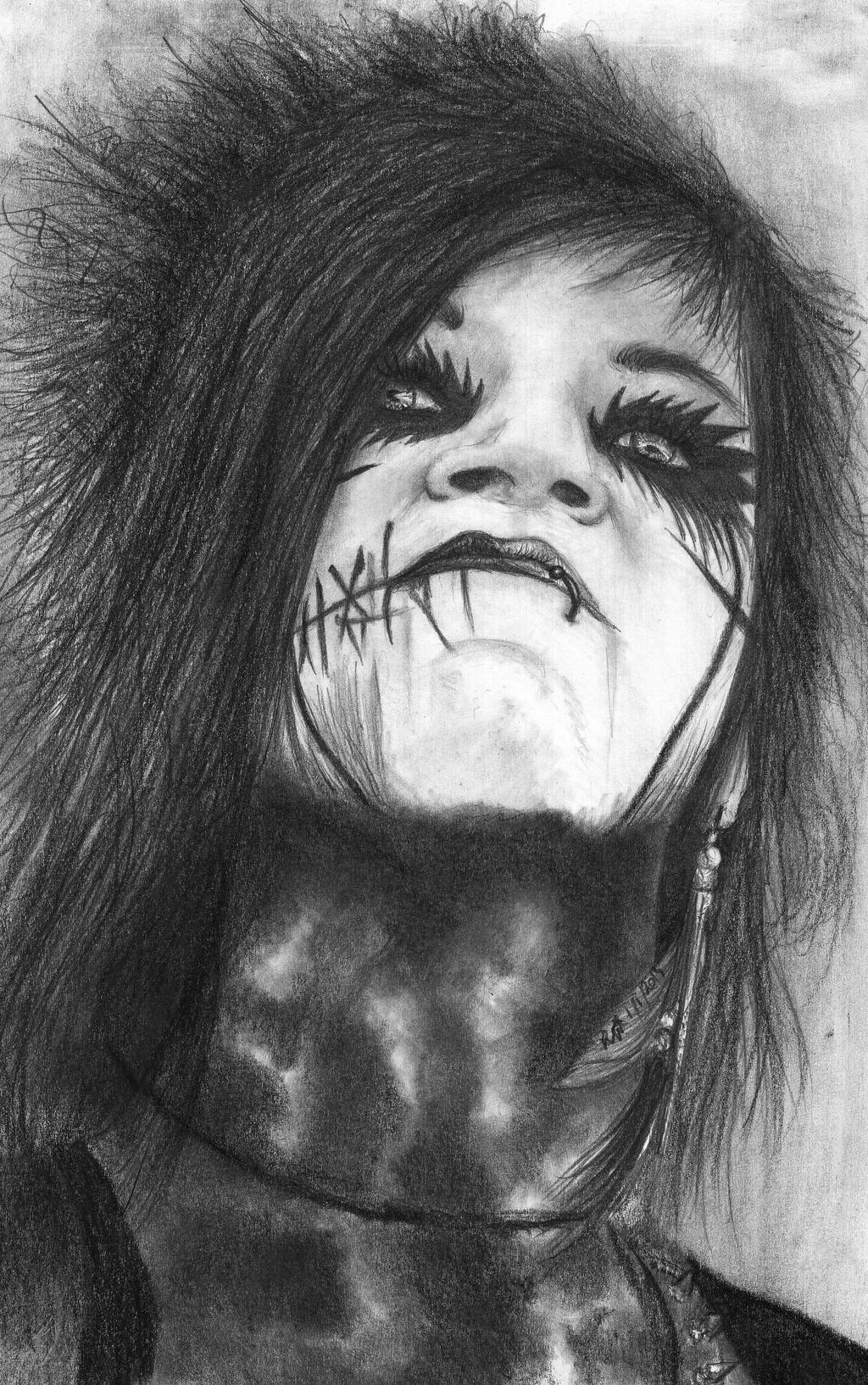 Andy Biersack by Shadow-rulz