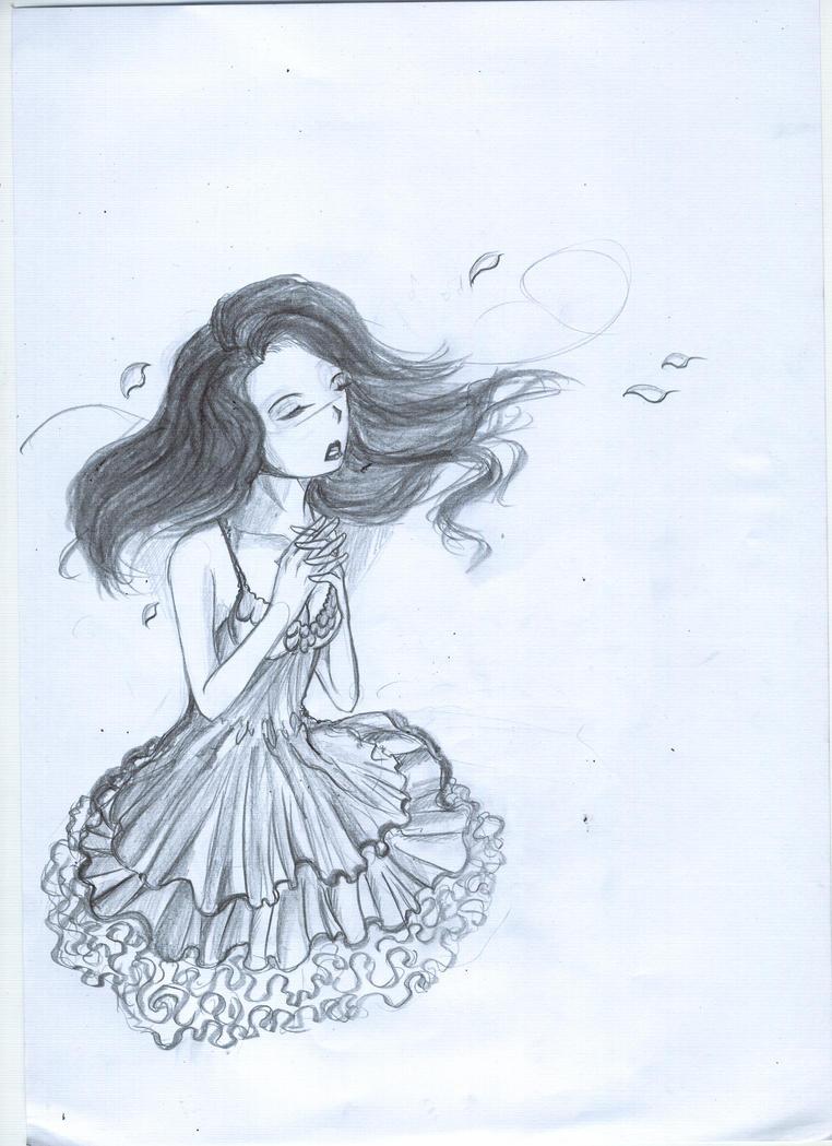 Anime Girl Singing By AnzuSensei On DeviantArt