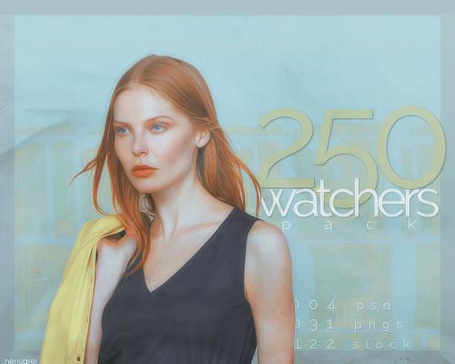 Hensgrej's 250 Watchers Pack