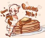 Pancakes chibi YCH (CLOSED) by KMPRSYAA