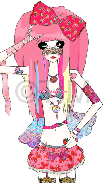 magical glitter girl by MrSTALIN