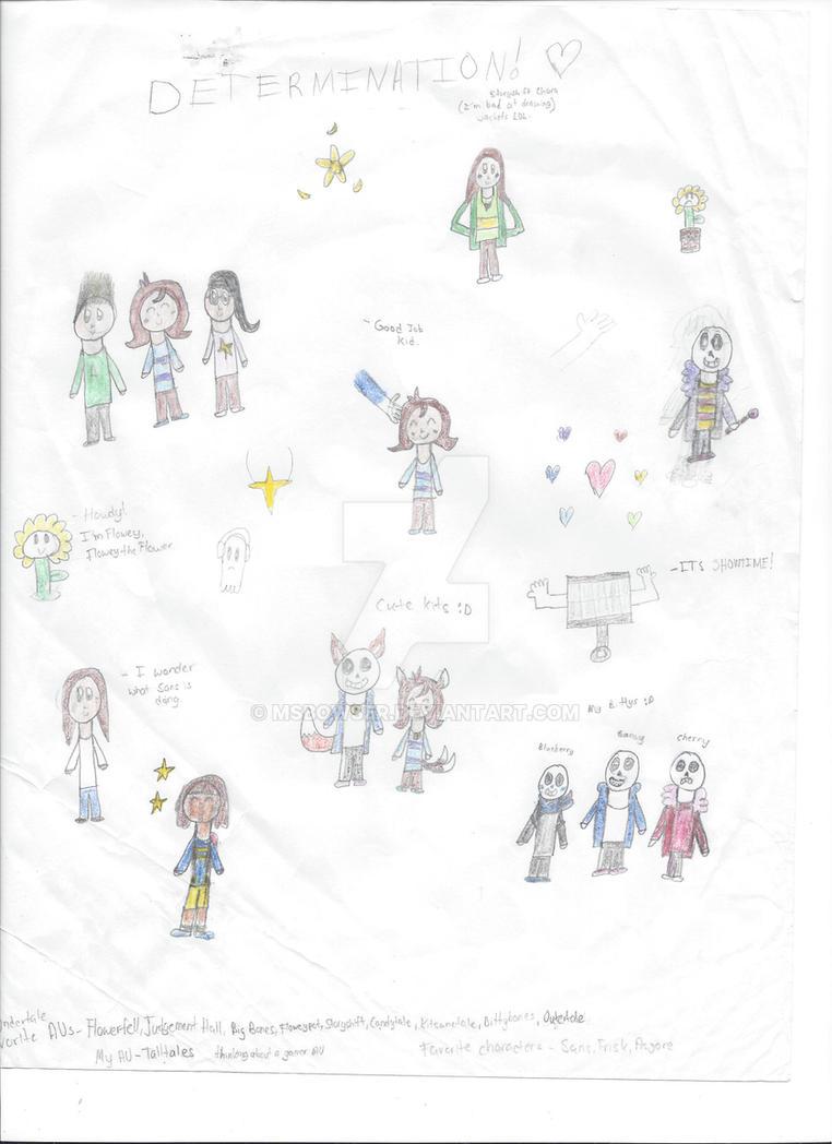 UT doodles by MsBowser
