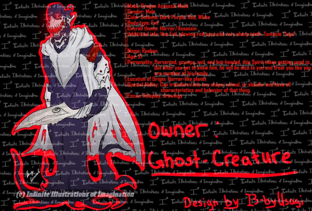REVOKED -Raaban the Tribal Masked Spirit- REVOKED by I3-byUsagi