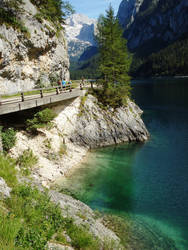 Gosausee by Milanthis