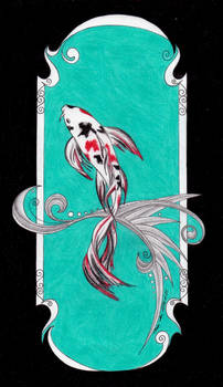 Koi fairy tale illustration 2013