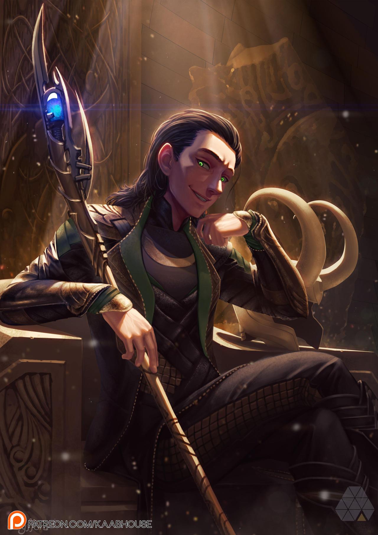 Loki by. Chyffon