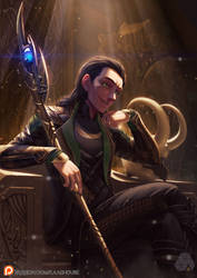 Loki by. Chyffon by kaabhouse