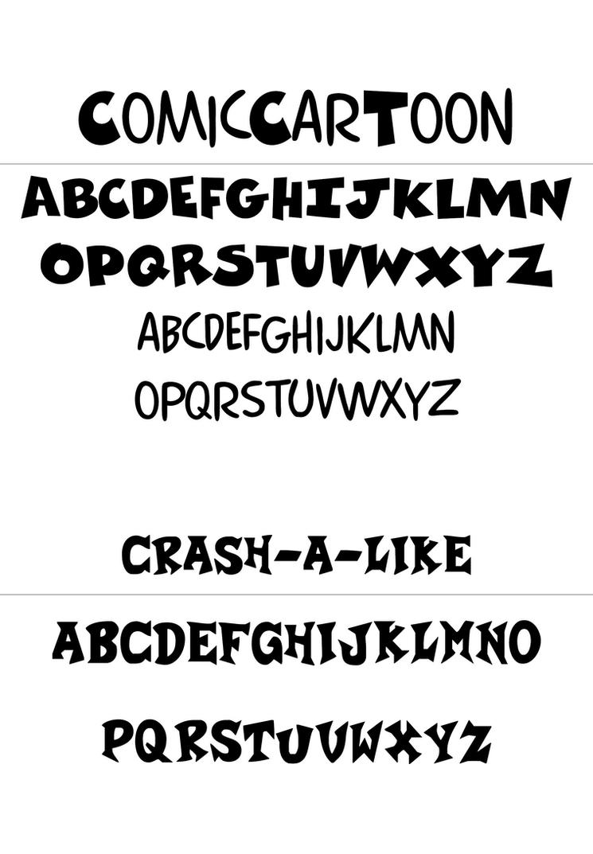 crash bandicoot official font by sggaming786 on deviantart