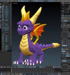 Spyro Reignited Trilogy Style Progress 3