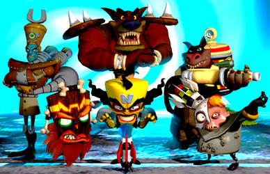 Crash Bandicoot TWoC Promo Poster (CB:TWoC Remake)