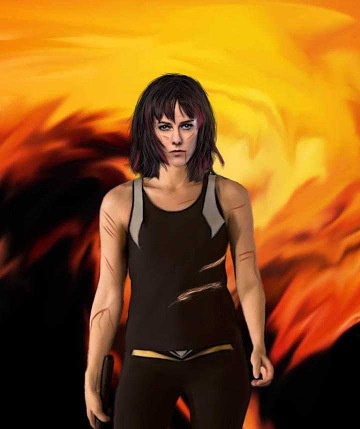 Johanna Mason: District 7 Digital Painting by ...