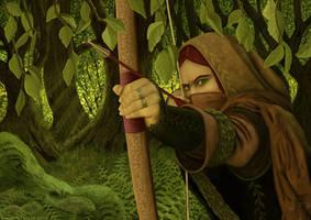 Hobbit Archer by runique