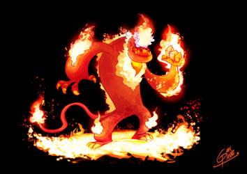 Dragon de fuego by Gianpierre