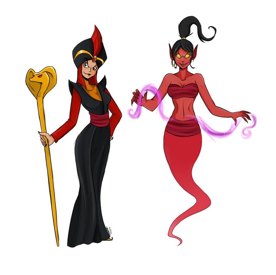 Miss Jafar By Clobutt On DeviantArt