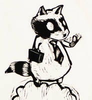 Business-raccoon