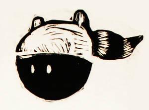 Raccoon-hat