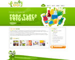 Food Store Solution Green