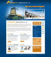 Construction template by MufeedAhmad