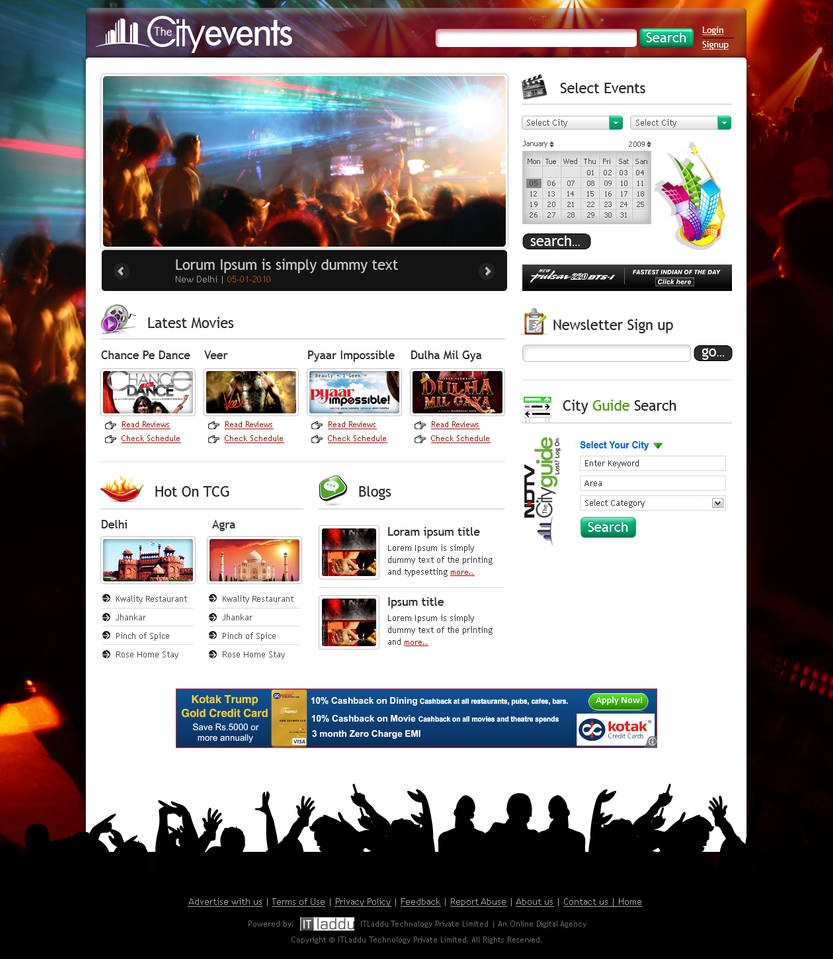 City Events Mufeed by MufeedAhmad