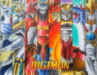 Digimon Leaders from All Generations