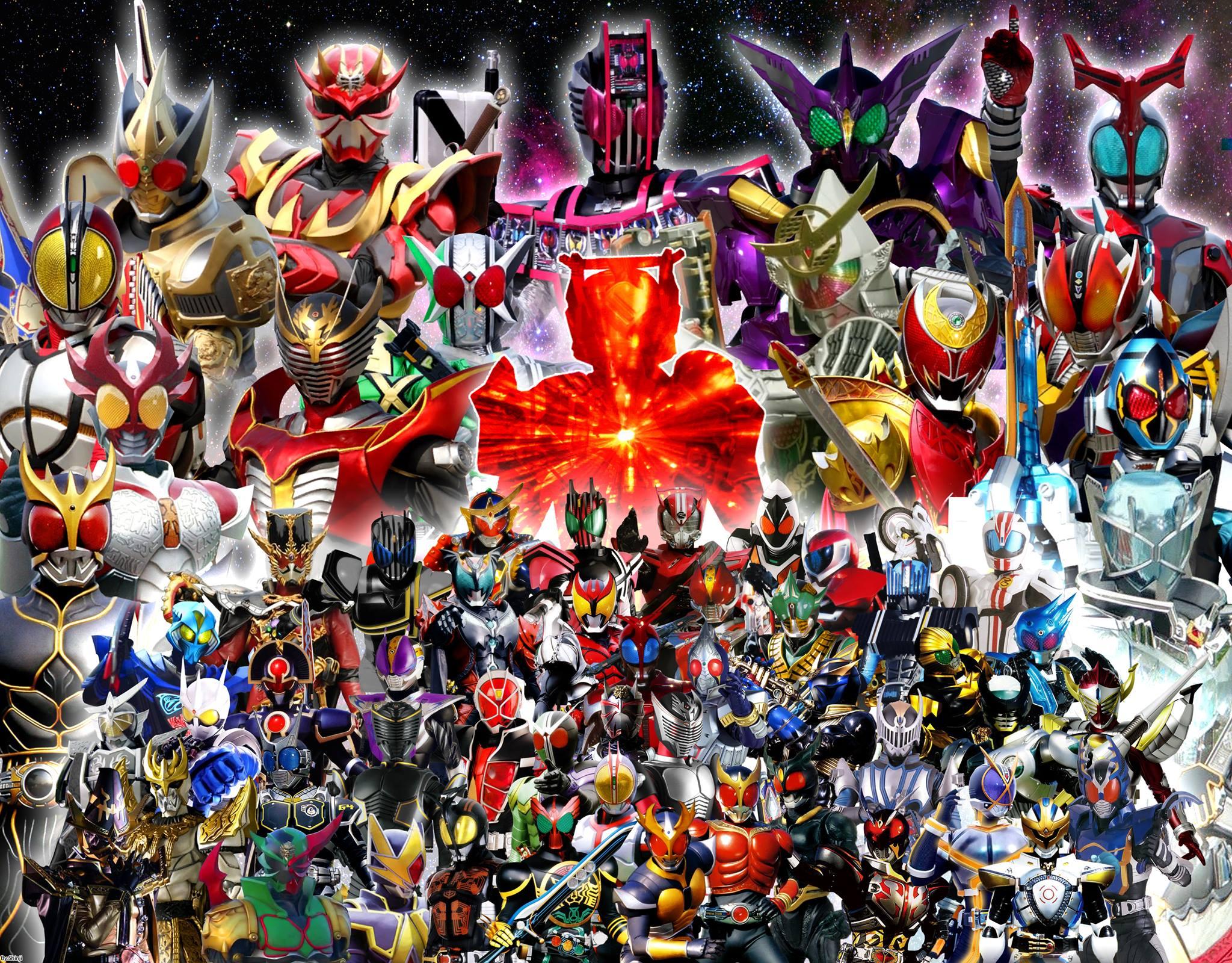 All Heisei,Secondary,Dark Kamen Riders by malecoc on DeviantArt