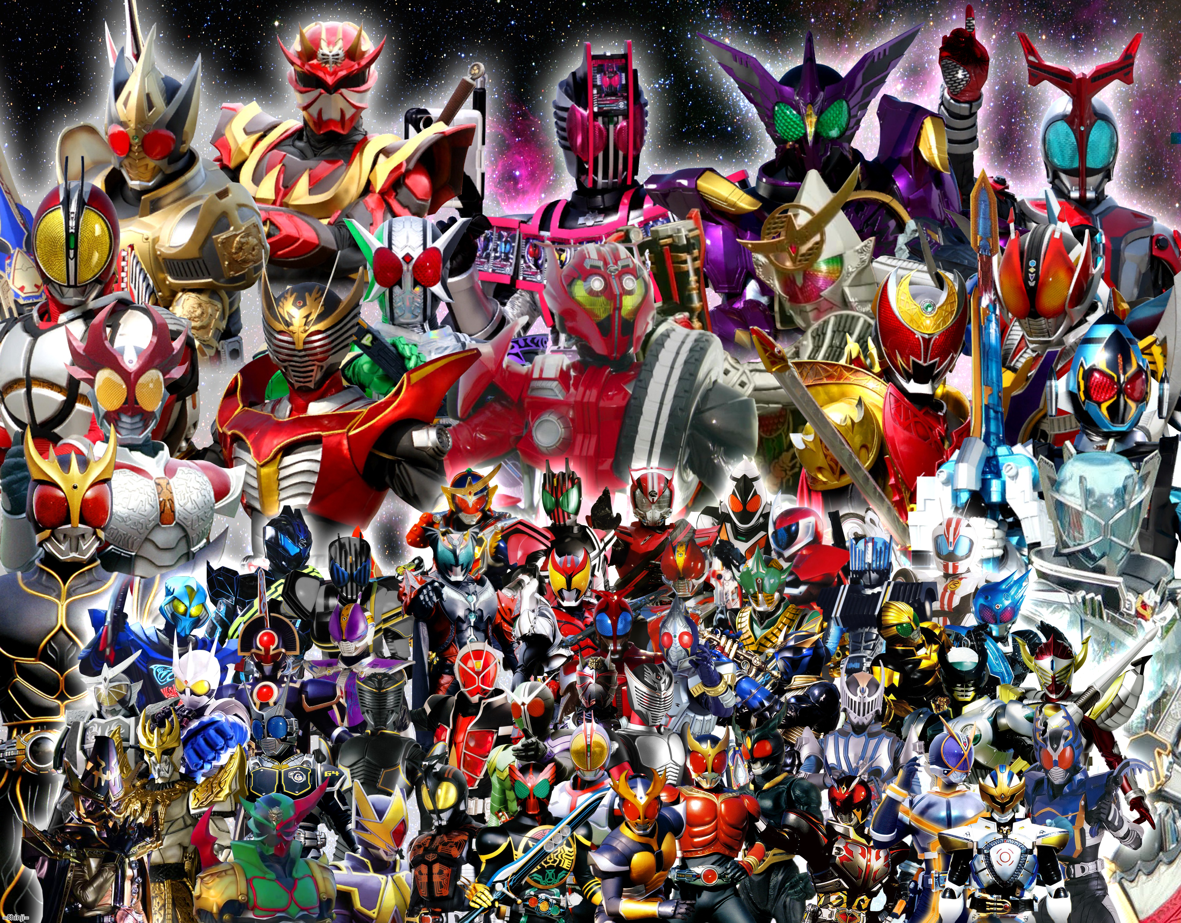 All Main(FinalForm),Secondary,Dark Kamen Riders 2 by malecoc on ...