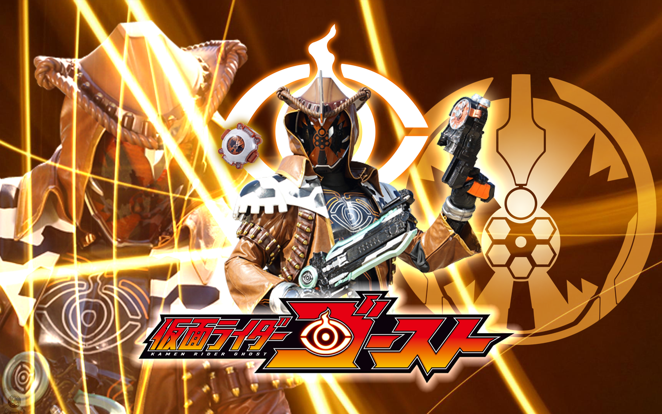 Kamen Rider Ghost Billy The Kid Damashii Wallpaper by malecoc