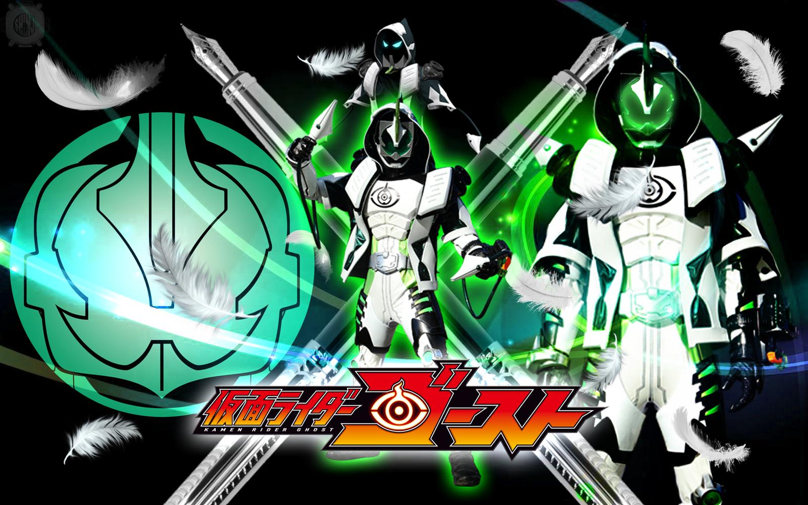 Kamen Rider Necrom Grimm Damashii Wallpaper by malecoc